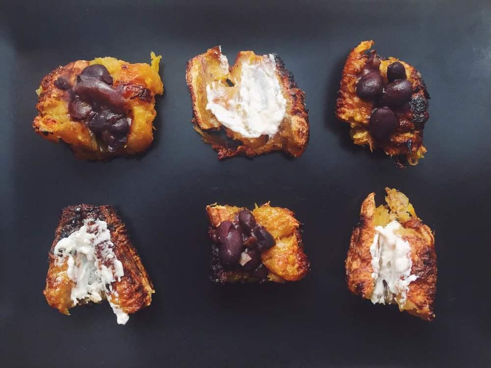 Baked Plantain Bites |  @alessandrataryn