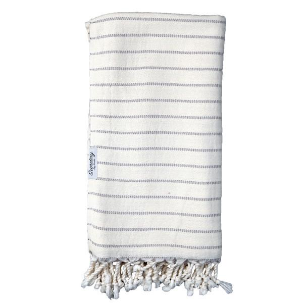 13.  Sunday Dry Goods  James-Turkish towel - I'm seriously obsessed with soft, and cozy things.  A warm pile of soft laundry and some carbs, and I'm in heaven.  Sunday Dry Goods literally has made all my dreams come true with this oversize super plush, deliciously soft bamboo towel.  The unique weave in this one makes it highly absorbant and the coziest ever.  If towels aren't your jam, they also have scarves, blankets, throws and yes,  pretty much everything they make is worth freaking out over.  $64`