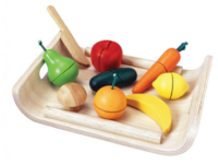 kids play wooden fruits and vegetables kitchen accessories for kids