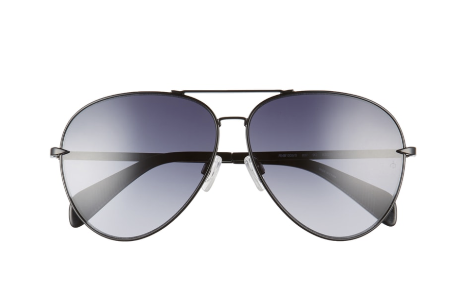 Nordstrom Anniversary oversize black Aviator.png