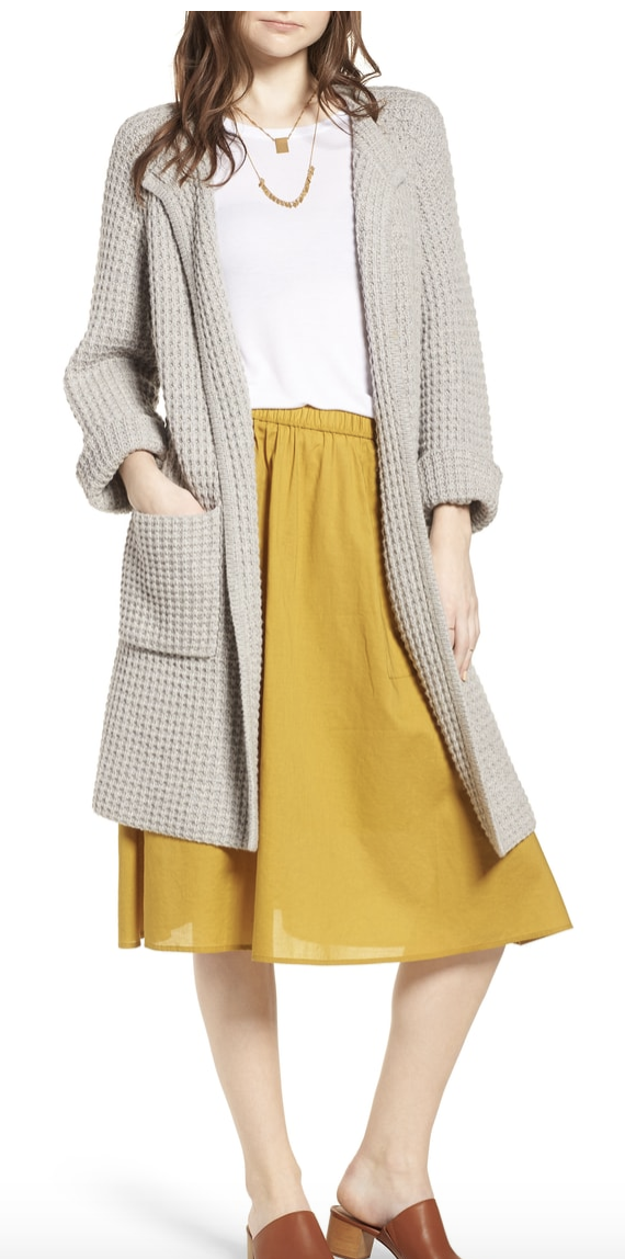 madewell waffle stitch cardigan Nordstrom Anniversary.png