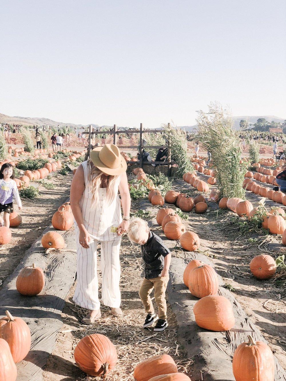 tanaka farms pumpkin patch candid mom style.JPG