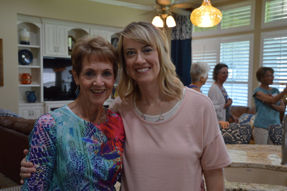 Nancy Neal & her daughter Kristin Myres Hosting our June 16th New Beginnings Lunch & Learn.