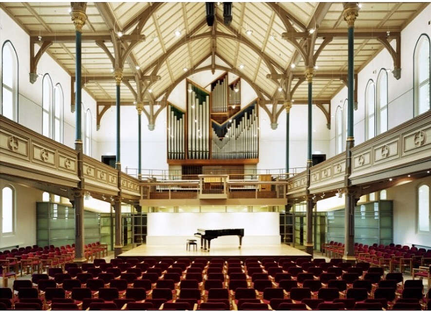 The recording venue! Immanuelskirche Cultural Centre in Wuppertal, Germany