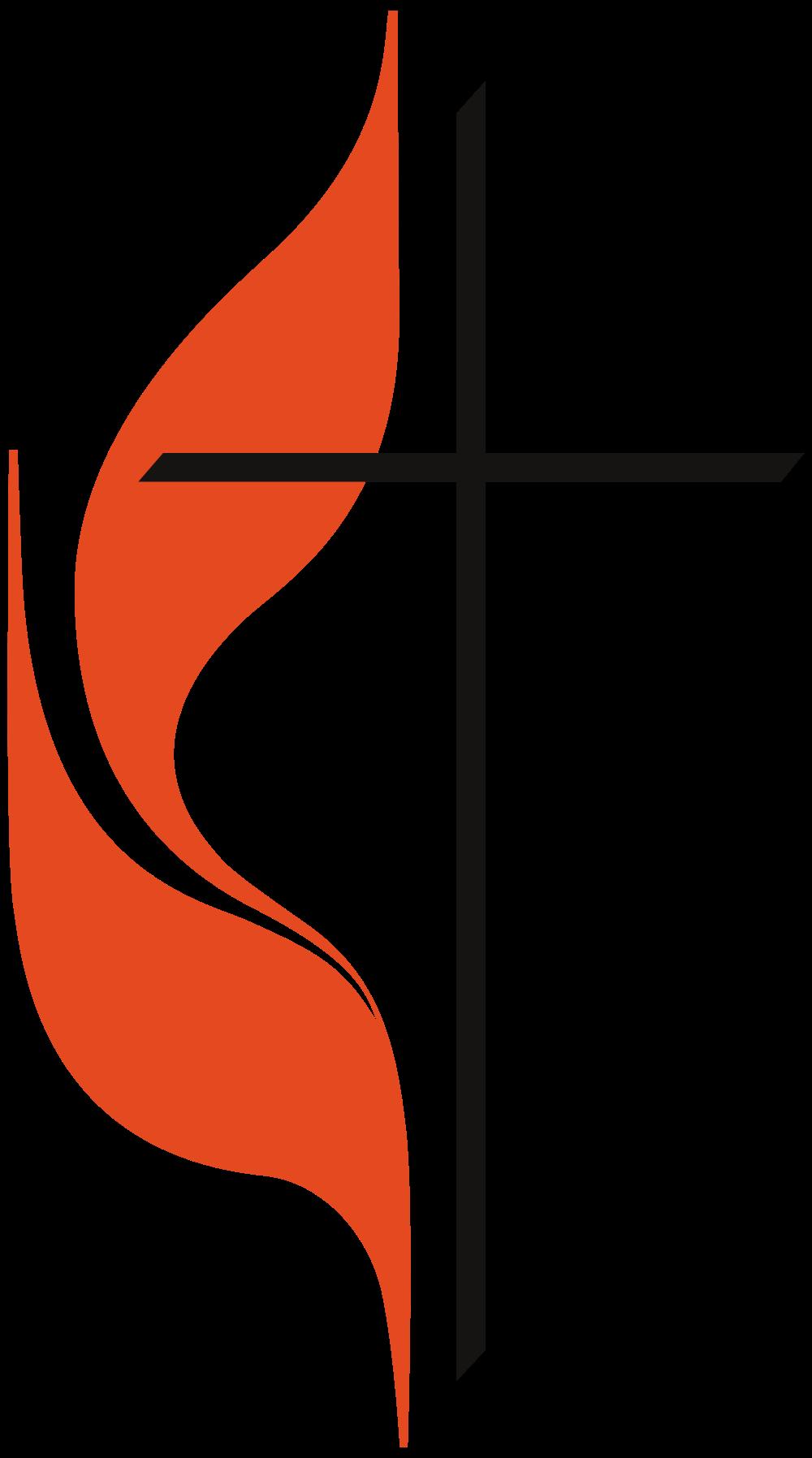 United Methodist Cross Logo