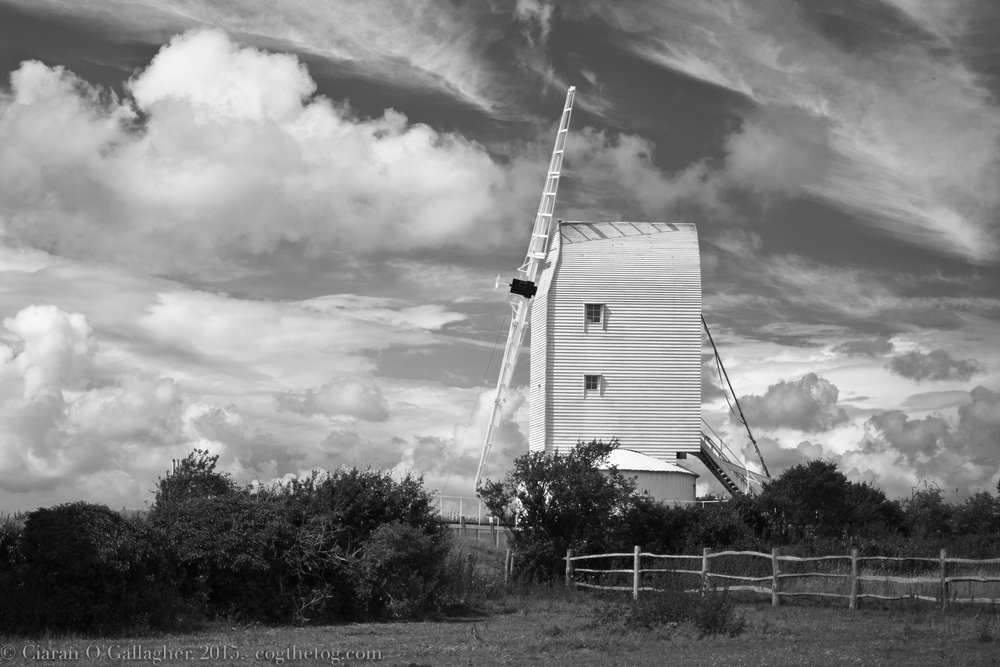 Air  - Ashcombe Windmill, East Sussex