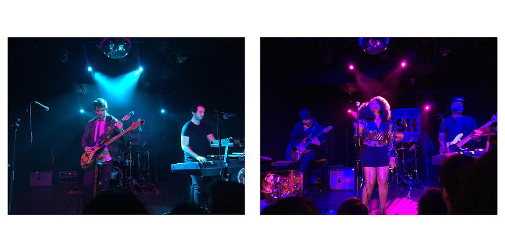 Left: Max Frost at The Parish, Jan. 28 2015. Right: Tameca Jones at The Parish, Jan. 28 2015.Photo Credits: Ryan McKeeman
