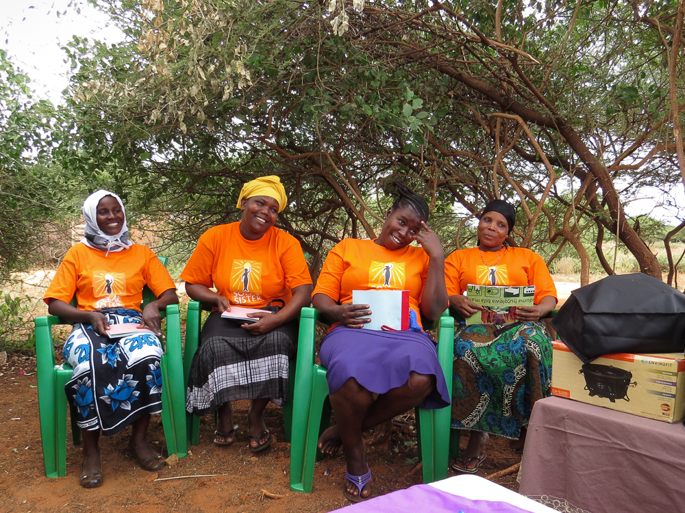 At Mforo Village (Mwanga district, Kilimanjaro region), we met with our first group of Solar Sister entrepreneurs.