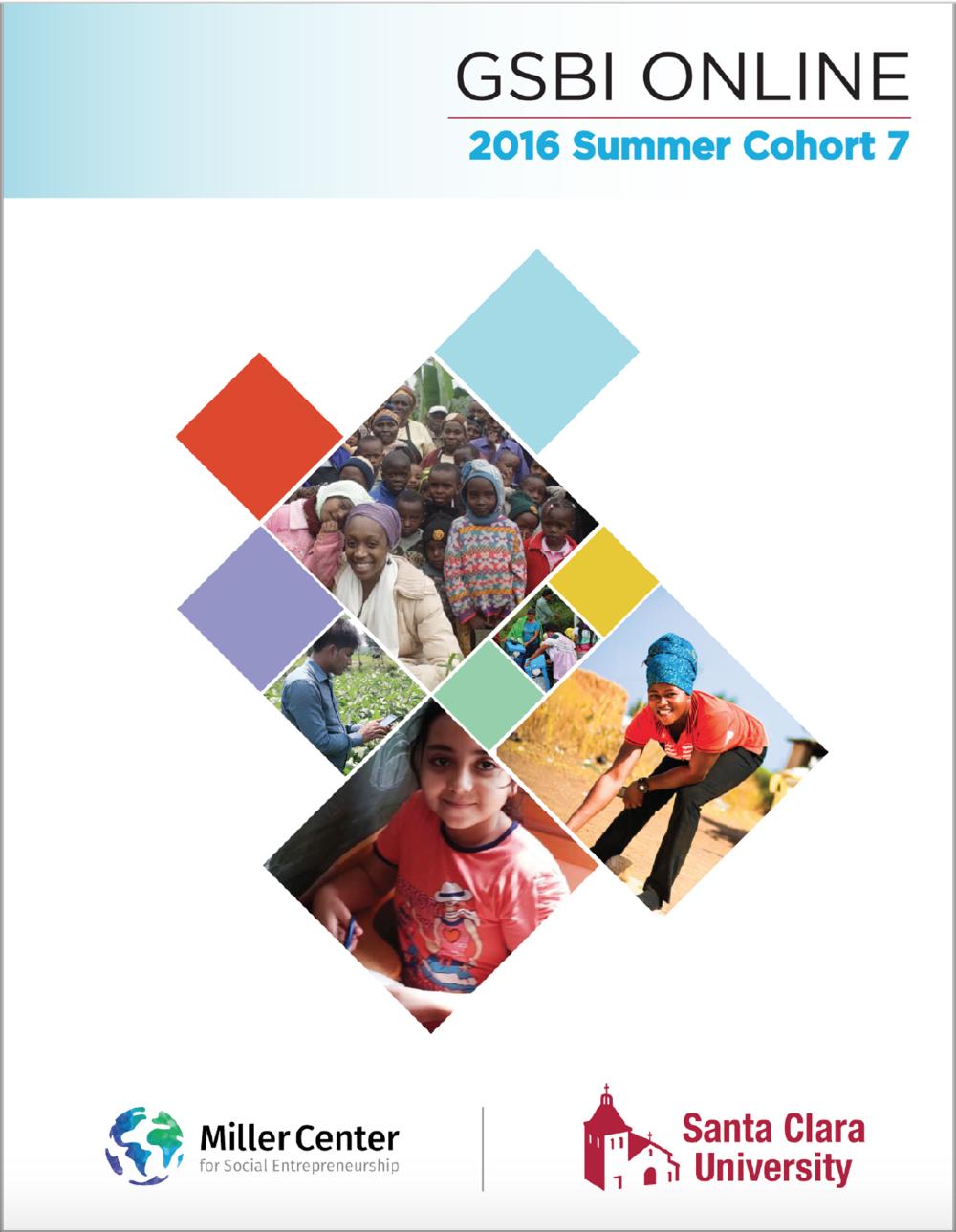 2016 GSBI Online: Summer Cohort 7