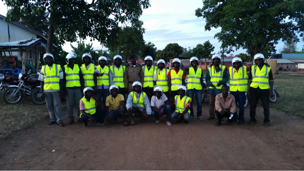 Pictured is the inaugural graduating class of Wakabi's safety training program