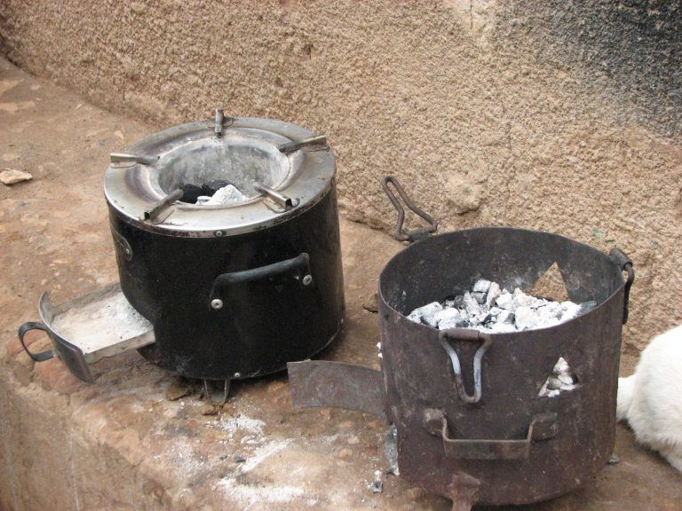 Helen Okidi's two stoves