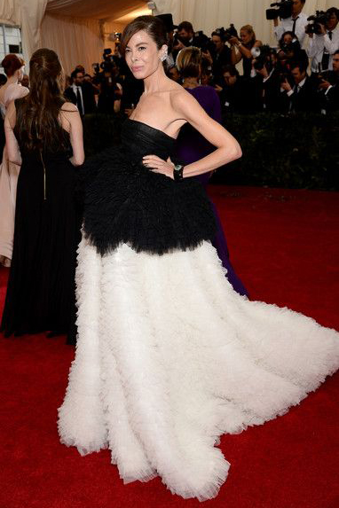 Allison Sarofim wearing Giambattista Valli at the 2014 Met Gala