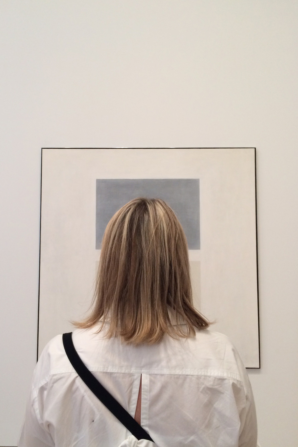 Whitney Museum - Marg-ritte absorbing Agnes Martin, This Rain