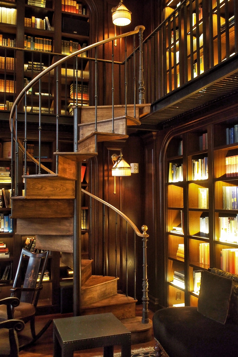 Library Bar at The Nomad Hotel NYC