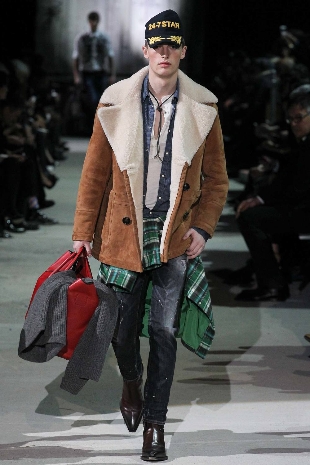 Dsquared2 Mens Fall 2015/16