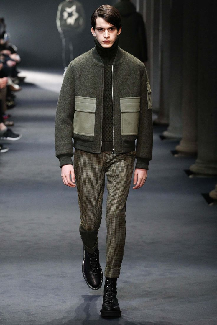 Neil Barrett FW15-16 - Jacket