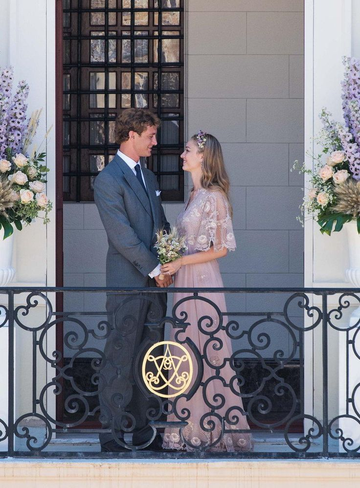 Beatrice Borromeo in Blush Valentino