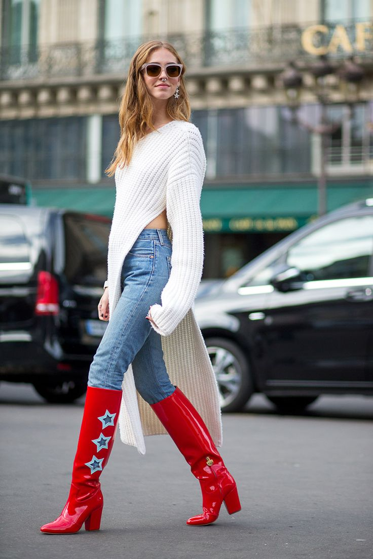 Chiara Ferragni in Stella McCartney FW15/16