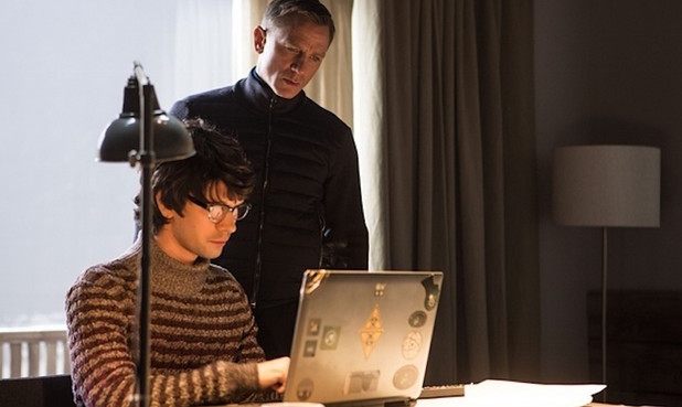 Ben Whishaw's Q wears Missoni Turtleneckin Spectre