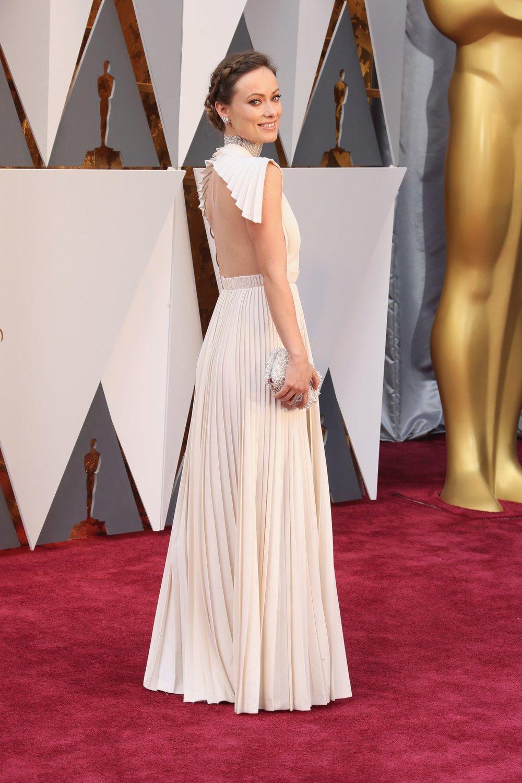 Olivia Wilde - Valentino Haute Couture SS16 - Oscar 2016