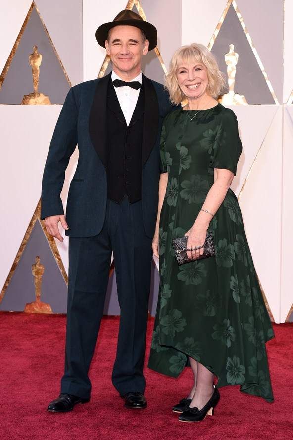 Mark Rylance and Claire van Kampen in Stella McCartney FW15/16