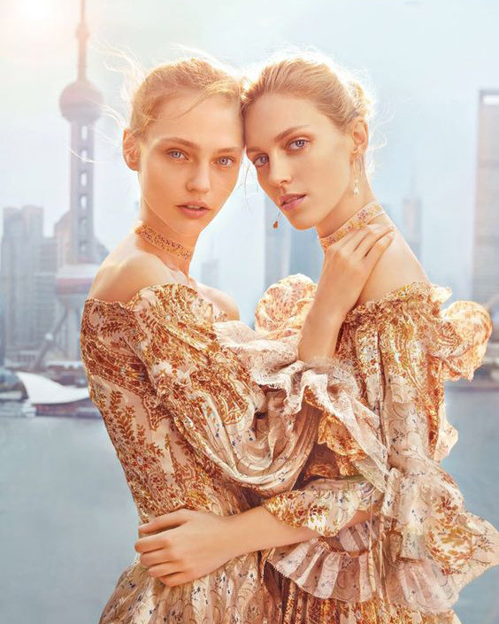 Etro SS16 - photographed by Chen Man for Vogue China