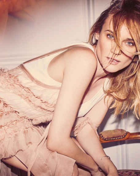 Diane Kruger in No21 - photographed by Guy Aroch For The Edit