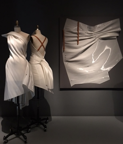 Issey Miyake 'Colombe Dress' SS'91