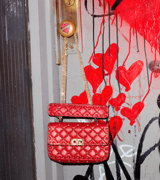Small #rockstudspike handbag // IN STORE.