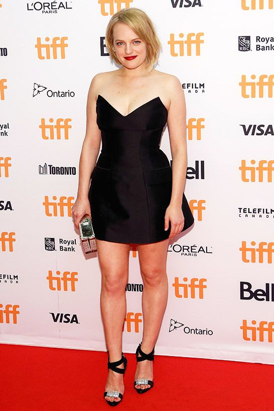 Elizabeth Moss in Stella Mccartney