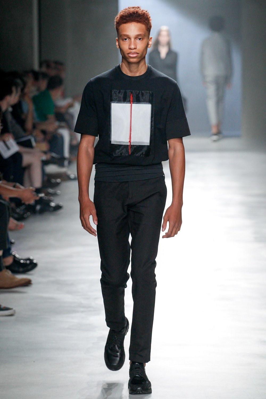 Neil Barrett SS18 - t-shirt