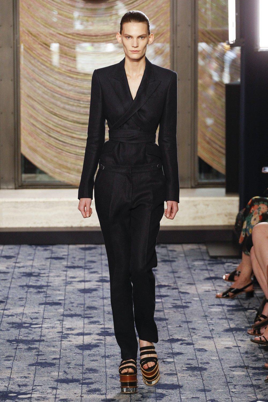 Gabriela Hearst SS18 - blazer