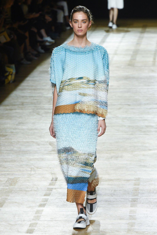 Issey Miyake - SS18 - skirt