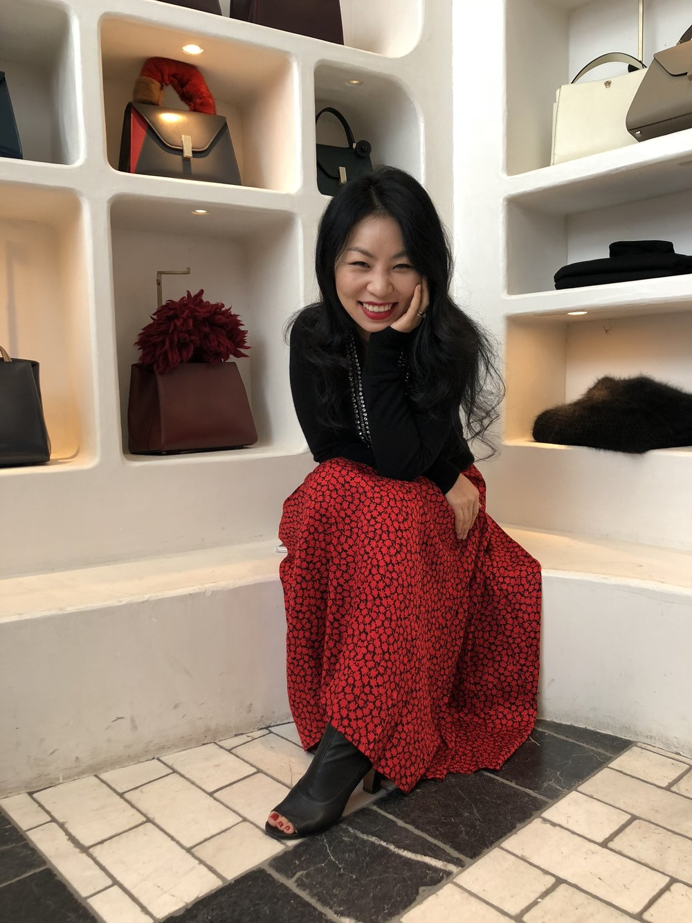 Yura is trilingual (Mandarin, Korean and English). She's a mom to one cool little dude. We love having her on our team - you can catch her in store on Mondays, Tuesdays  and Wednesdays.