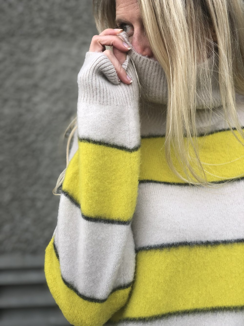 The honest to god softest sweater you will ever feel.