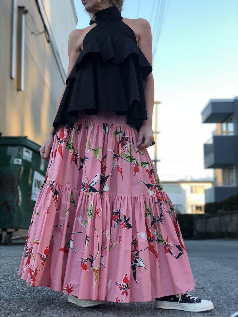 . . . wear it as a skirt . . .