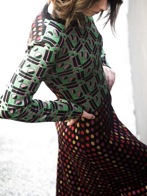 La Double J dress.