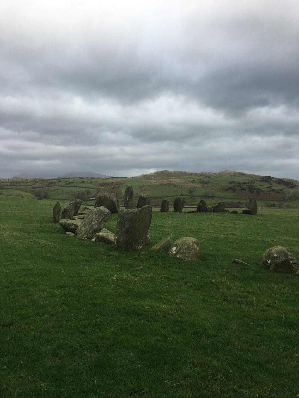 Swinside Stone Circle, Lake District, England