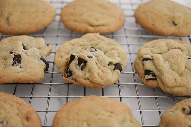 Chocolate chip cookies are my love language. I finally perfected my own recipe and shared it on #emilyruthweir. Tap the link in my bio to grab the recipe!