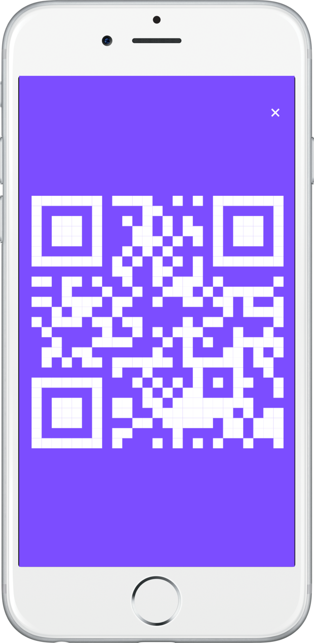 iPhone 6 Silver 2 + Notifications + Action + Full Screen QR.png