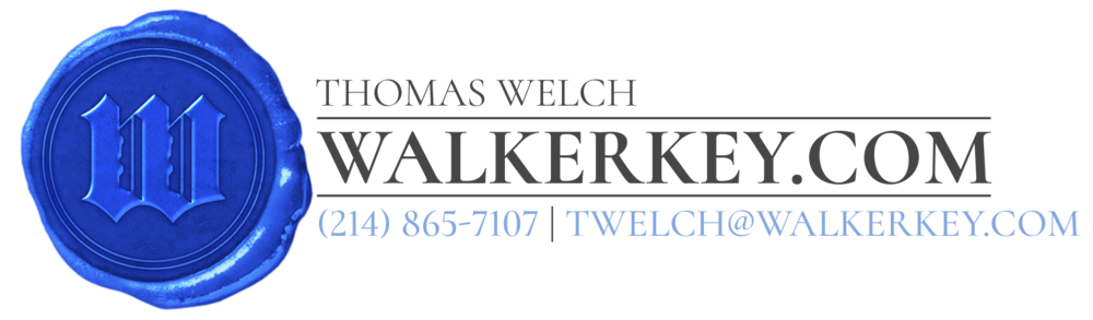 "The Walker Key Realty Group was looking for a wax seal logo that would integrate a key in a stately blackletter upper cased ""W"" and would carry an heir of class, reputation, and established integrity."