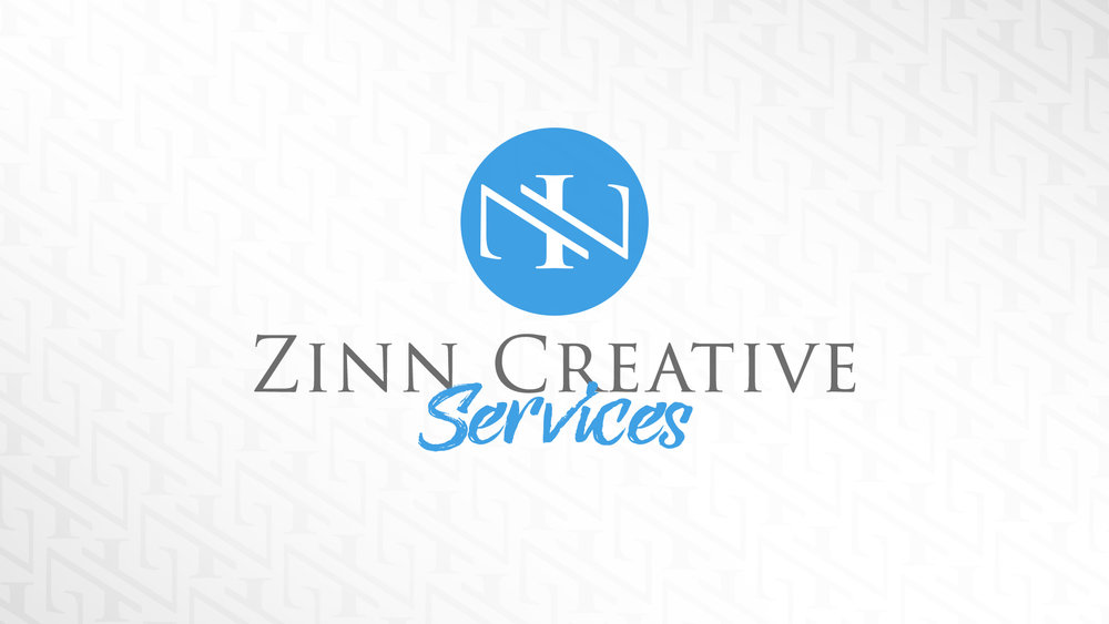 "Our ""Zinn Creative Services"" Logo is one that I designed, It combines all of the letters of our last name ( Z I N N ) and is very adaptable"
