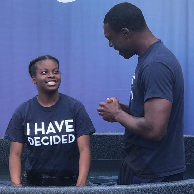 One of the greatest decisions our students can make is choosing to give their life to Christ! Congratulations Ariyanna on your baptism! We are so proud of you!