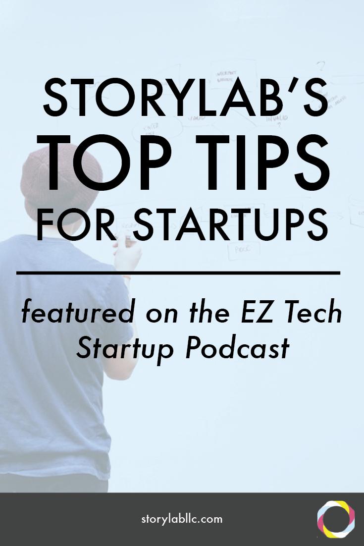 storylab, ez tech start up, entrepreneurship