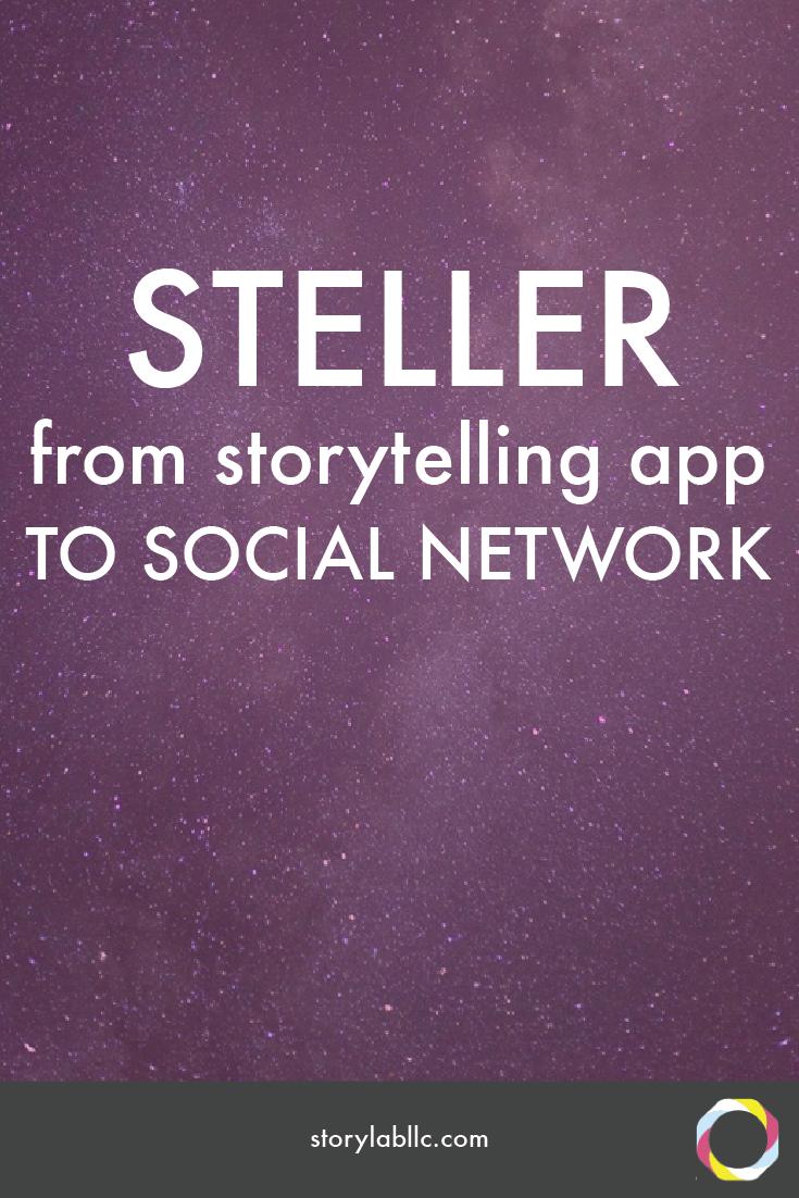 steller, storytelling, app, mobile storytelling, multimedia