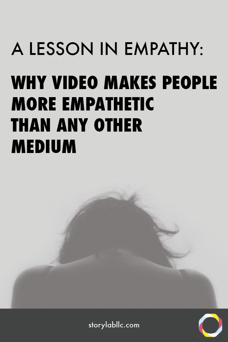 video, virtual reality, 360 video, empathy, nonprofit, video empathy, storytelling