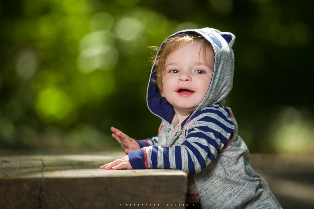 One of our best portrait from this photo session in Redmond, WA