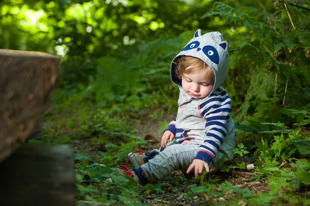 A sample of our modern outdoor kids photography near Redmond, WA