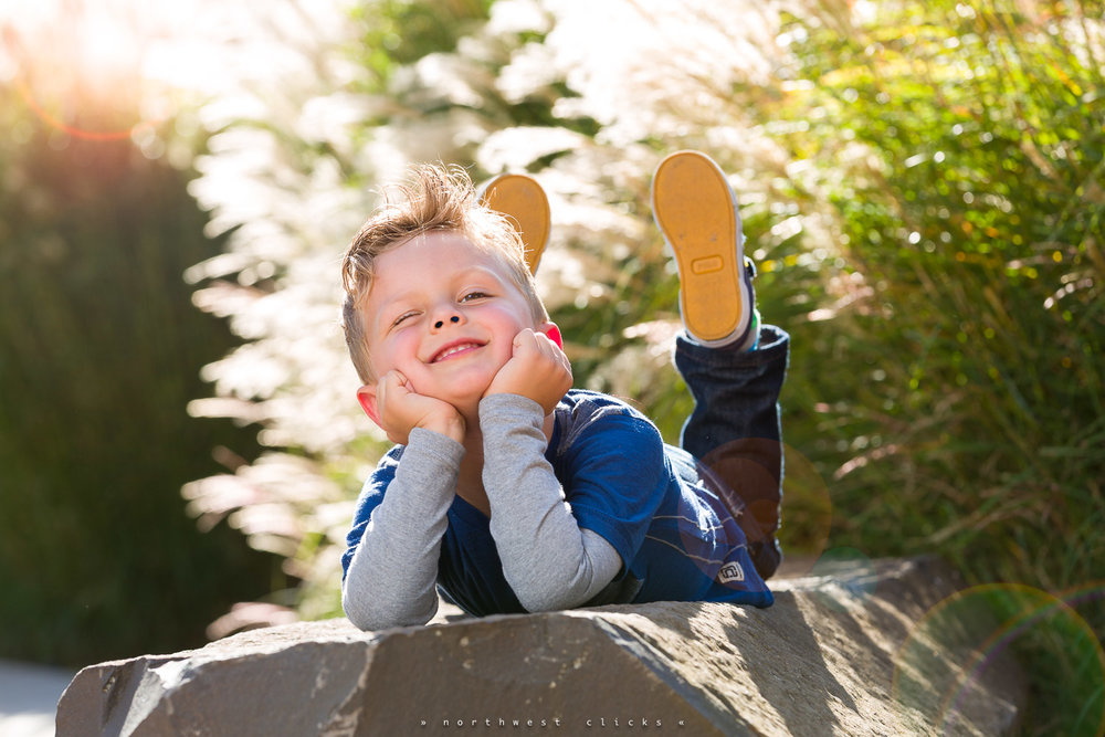 A great summer child portrait - Sammamish Children Photographer