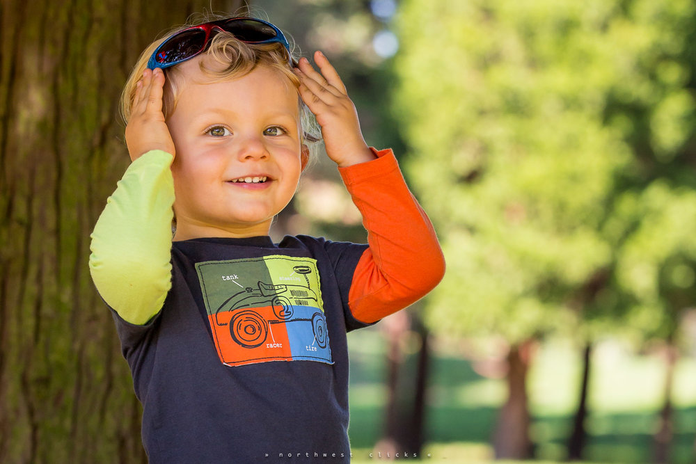 A beautiful outdoor profesional child portrait in Redmond, WA